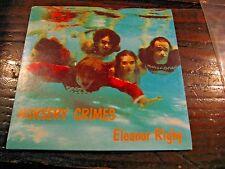"Nursery Crimes Eleanor Rigby b/w Eleven Hours a Day Vinyl 7"" Single Rat705"
