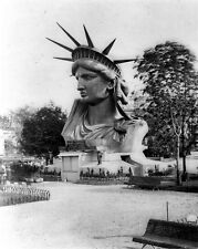 New 8x10 Photo: Head of Statue of Liberty on Display in Paris, Destined for NYC
