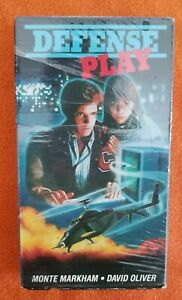 Defense-Play-VHS-rare-OOP-Star-Classics-Family-Tyme-David-Oliver-Monte-Markham