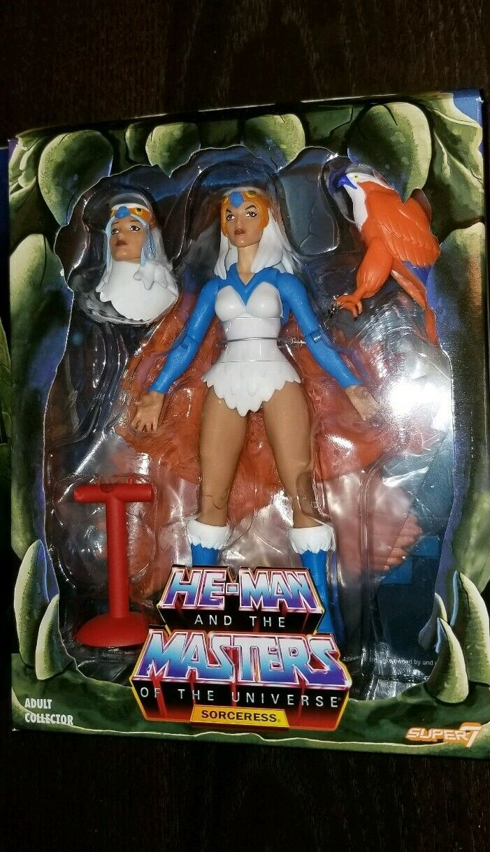 Super7 He-Man and The Masters of the Universe Sorceress
