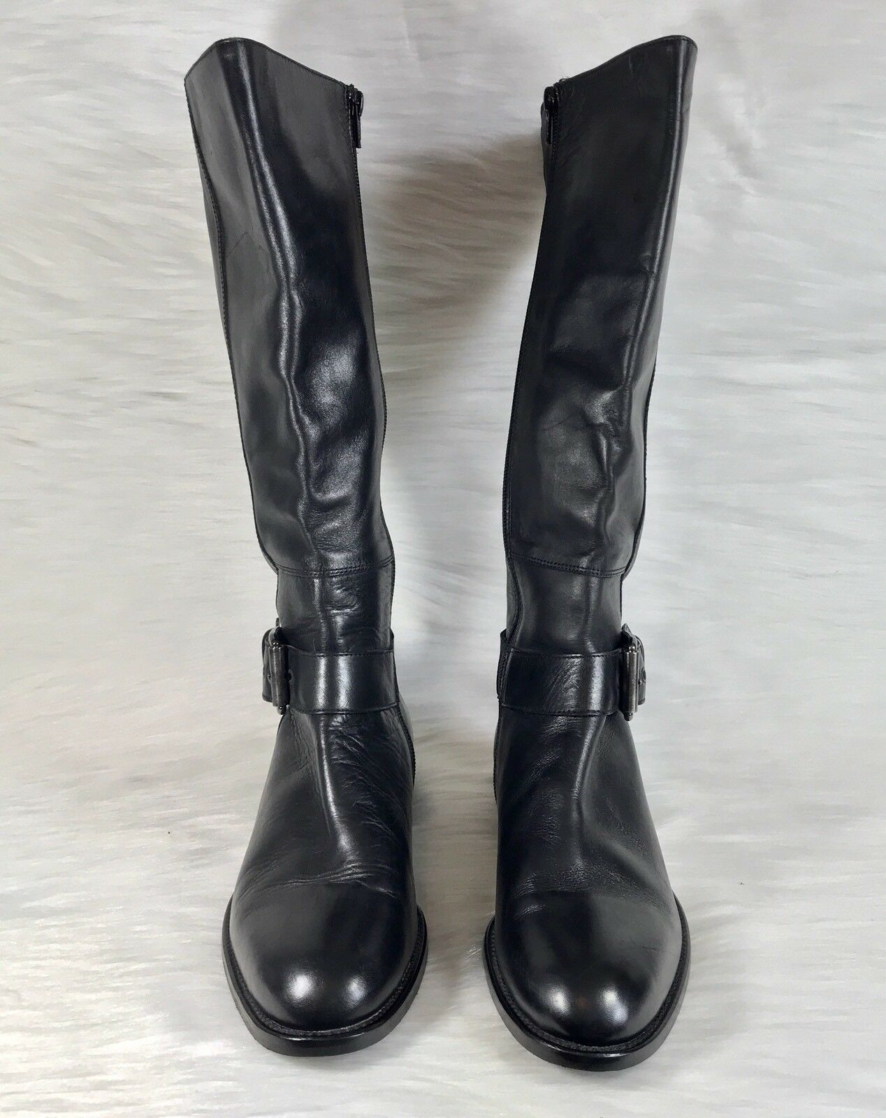 Disfruta de un 50% de descuento. Colin Stuart Collection Collection Collection Alto Equitación Ecuestre botas Negro Cuero Italia  sin mínimo