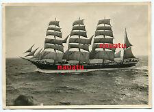 Foto Windjammer Segelschiff Flying P-Liner Reederei F. Laeisz unter Segel