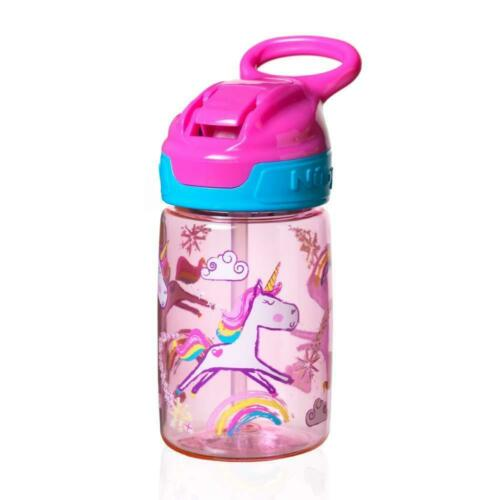 Nuby Tritan Sippy Cup Incredible Gulp Active Toddler 360 Pink Unicorn