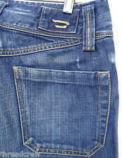 DIESEL CAPRIS sz 5 womens blue cropped jeans denim^041