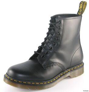 NEW-Dr-Doc-Martens-BLACK-1460-Boots-Size-UK-5-US-7-11821006