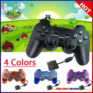 PS2 sua utilità Wired Controller Gioco Gamepad Joypad Originale per & Playstation