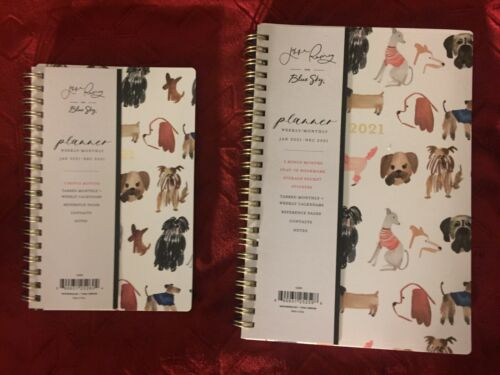 2021 2 Jenna Rainey for Blue Sky Dog Themed Weekly Monthly Planners