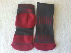 LADIES QUALITY KARRIMOR MERINO WOOL HIKING WALKING BOOT SOCKS PINK OR PURPLE 4//8