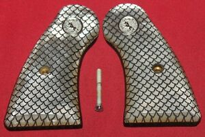 Colt-Firearms-Python-Officers-Model-Pearl-Grips-Nickel