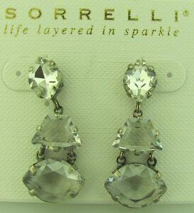 Image Is Loading Sorrelli Rainbow Quartz Earrings Edk33asrq Antique Silver Tone