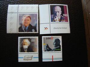 Germany-Rfa-Stamp-Yvert-Tellier-N-1650-1656-1658-1659-N-MNH-Z16