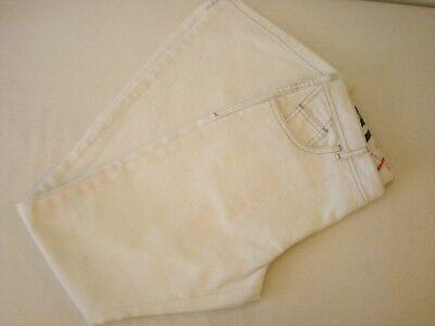 Burberry Ragazze Jeans Bianco Pantaloni Pants 12 13 14 Anni 152 Cm 158 Cm Nuovo-mostra Il Titolo Originale