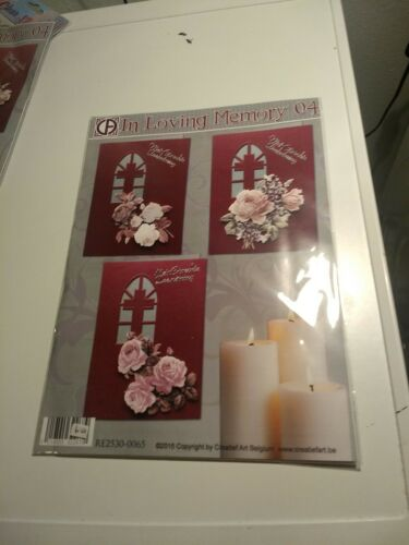 PACKAGE HOBBYCRAFTS FOR MAKE CARDS//IN LOVING MEMORY F NO SCISSORS NEED
