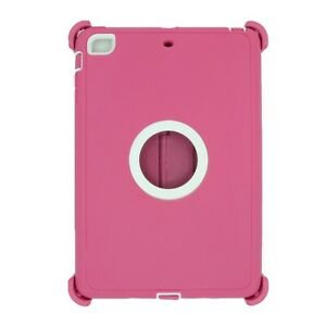 For-Apple-iPad-mini-2-3-Case-Cover-w-Stand-Fits-Otterbox-Defender-Pink-White
