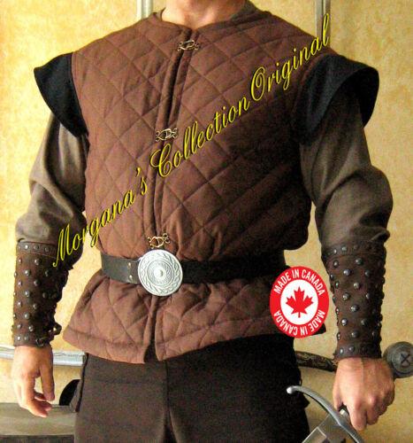 Medieval Armor Short Sleeveless Gambeson Deluxe
