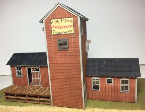 Motrak Models Patterson Fire Hose Co.Structure Kit HO Scale