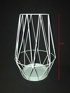 Candle-Holder-Wire-Hurricane-Lantern-Metal-dinner-Atmosphere-24cm