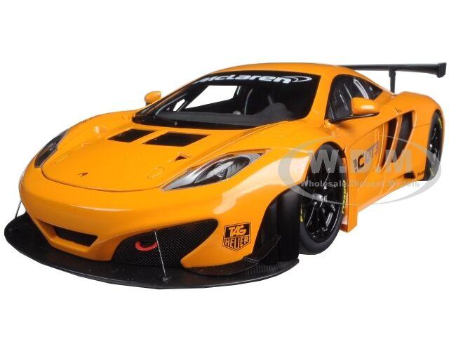 envio rapido a ti Mclaren 12c Gt3 Presentación Metálico Naranja 1 18 18 18 Diecast Modelo De Autoart 81340  barato en línea