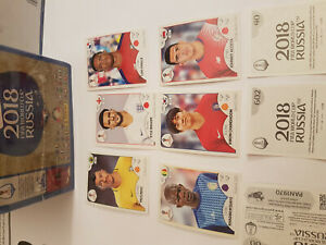 Panini-world-Cup-coupe-du-monde-2018-Sticker-Autocollant-Choisir-Selectionner-choose-numeros-8-671