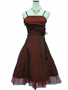 Robe-de-soiree-cocktail-ceremonie-mariage-T-34-a-50-ROUGE-fonce-Evening-dress