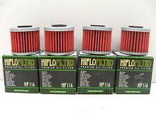 4 Pack Honda TRX450R ATV HiFlo Oil Filters HF116 TRX 450R FREE SHIPPING