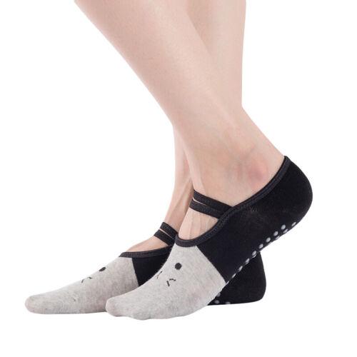 Cotton Cat Shape Ventilation Comfortable Fitness Soft Gym Yoga Anti-slip Socks W