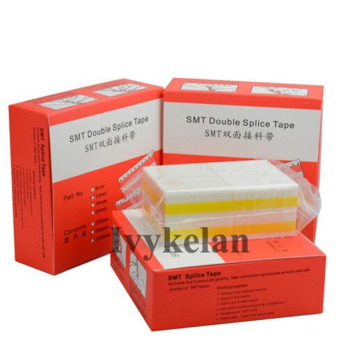 SMT Double Splice Tape pleinement utiliser les autres composants exacte Raster jaune 16 mm