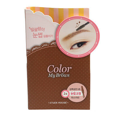 ETUDE HOUSE Color My Brows Mascara 4.5g #2 Light Brown freebie