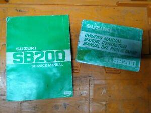 Suzuki-SB200-SB-200-Owners-Manual-amp-Service-Manuals-Genuine-Suzuki