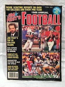 1988-Jim-Feist-039-s-Football-Annual-John-Elway-Bernie-Kosar-Troy-Aikman-on-Cover