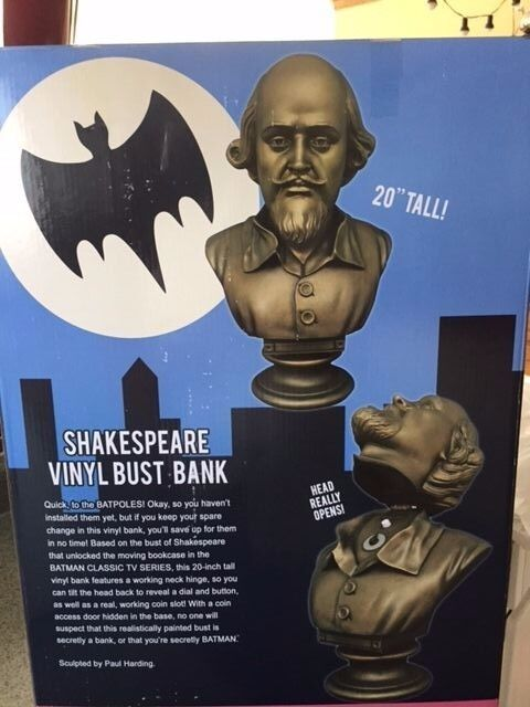 Batman 1966 TV Series Shakespeare Head 20-Inch Bust Bank