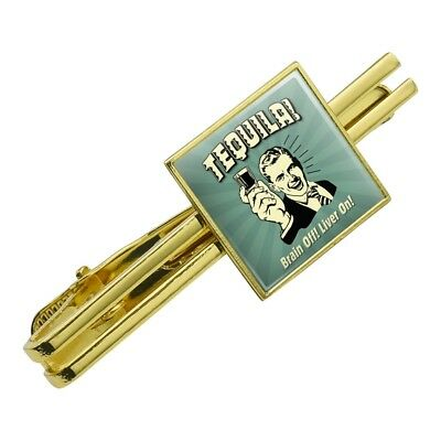 GRAPHICS /& MORE Beer Its a Liver Full of Fun Funny Humor Square Tie Bar Clip Clasp Tack Silver or Gold