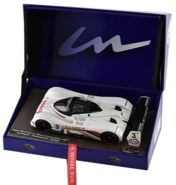 LE MANS MINIATURES PEUGEOT 905 EV1 TER  3 - Winner 1 32 Slot Car 132041EVO 3M