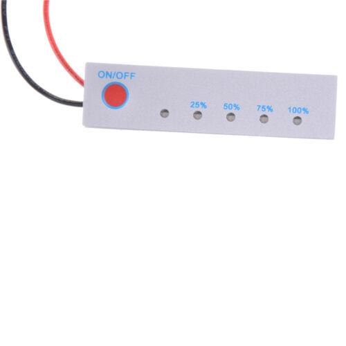 12V Lithium Batteriekapazität Tester Panel elektrische Power Display AnzeigeR fu