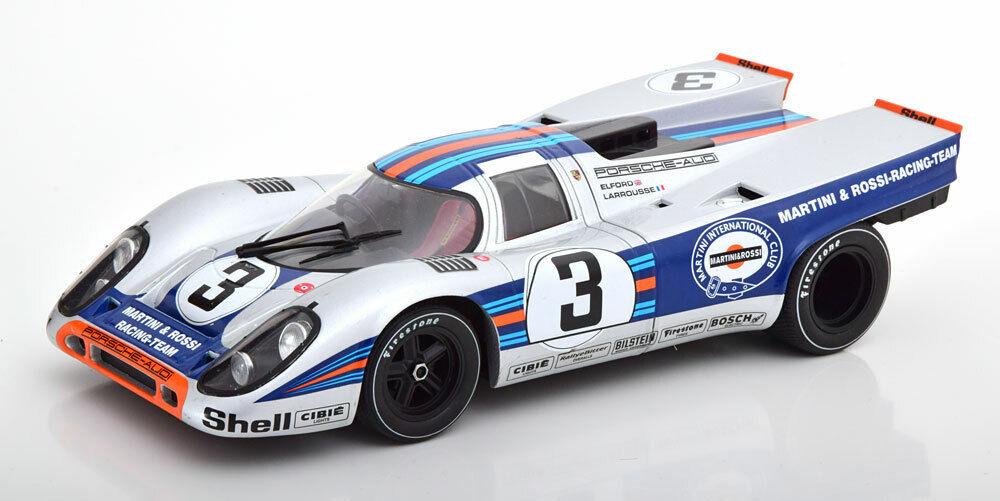 Cmr Porsche 917K Martini Gewinner 12h Sebring 1971 Elford Larousse  3 1 18 Maß