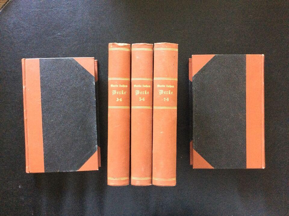 Martin Luthers Werke, Martin Luther, emne: religion
