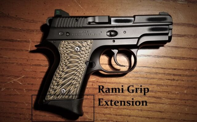 CZ 2075 Rami Grip Extension Fits Both 9mm and  40 S&w