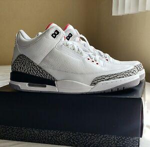 2011 Nike Air Jordan Retro 3 White