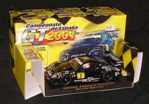 FLY PA3 COMPEONATO DE ESPANA GT 2001 1 LISTER STORM Ref.PA3 PAGINAS AMARILLAS