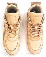 Heyday Jordan 4 Iv Calf Skin Custom Handmade Sneakers Size Eu 43 / U.s 9.5/10