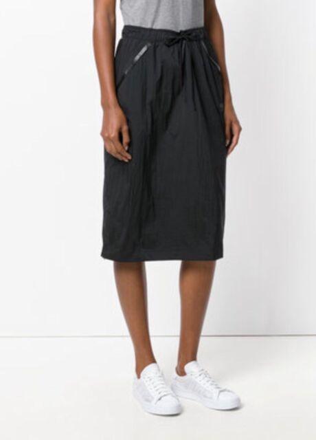 b9b0fb979 Nike deportiva Tech Hypermesh mujer track falda MIDI casual negro S