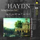 Haydn: String Quartet Op. 42; String Quartet Op. 103; String Quartet Op. 77 Nos. 1 & 2 (CD, Sep-2014, MDG)