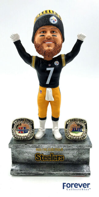 7c6d99cd59f Forever Collectibles Steelers Ben Roethlisberger 2x Championship Rings NFL