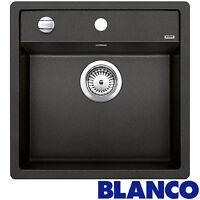 Blanco Dalago 5 1.0 Bowl Anthracite Black Silgranit Granite Kitchen Sink