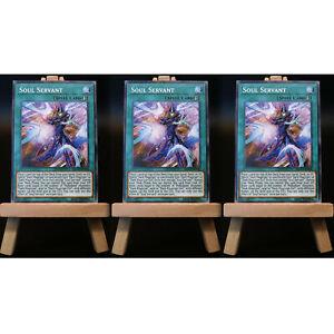 Yugioh-PROXY-3x-Playset-Soul-Servant-Soul-sirviente-tarjeta-Orica-mago-personalizado
