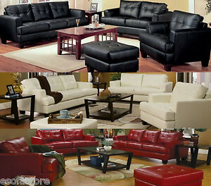 Image Is Loading Modern Sofa Set 4pc Couch Living Room