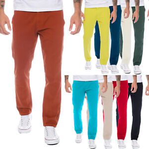 Rock-Creek-Herren-Designer-Chino-Hose-Regular-Slim-Chinohose-Sommerhose-RC-390B