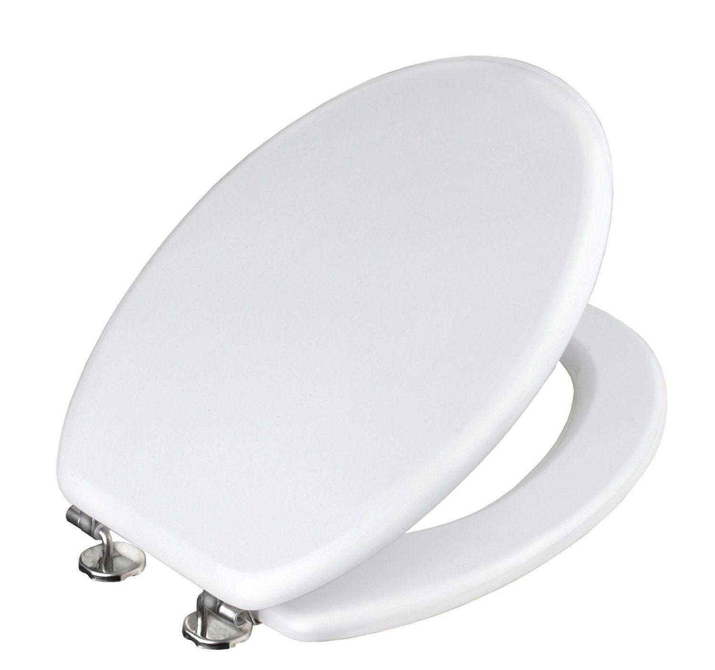 Sitz Wc Universal Toilettensitz Hölzern MDF Weiß 92988 Maurer