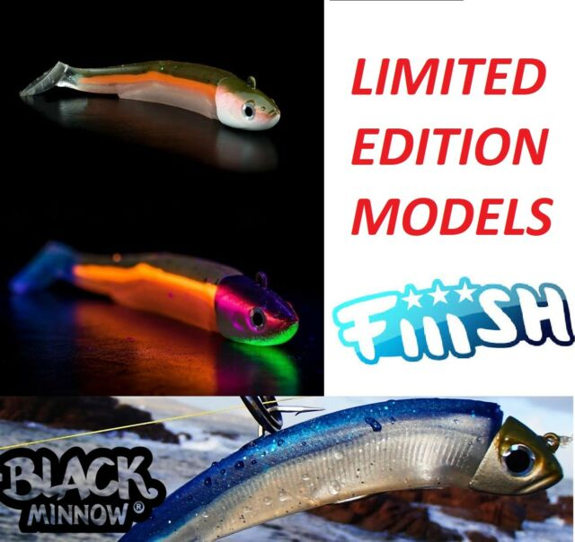Double Combo - Shore - Offshore - 3g - 6g Red Minnow FIIISH Black Minnow 70 Combos
