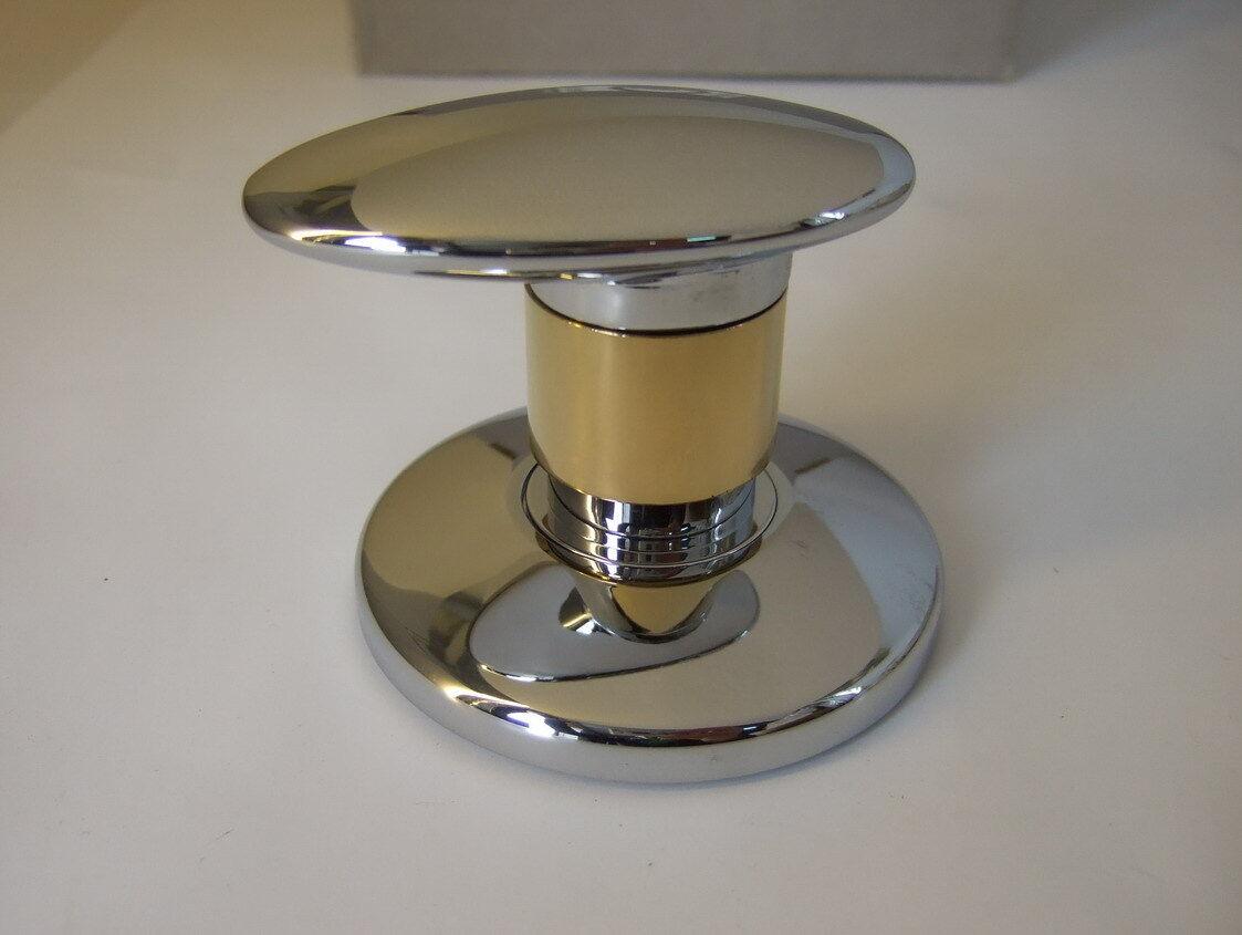 JADO JADO JADO Displays Mehrwegventil H2875F2 Chrom/Gold Edelmessing Sichtteil Wandeinbau 213a97